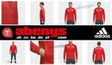 mikina MANCHESTER UNITED adidas - true red