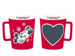 hrnček MICKEY MOUSE - KISS s kriedou - 320 ml