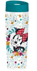 termohrnček MINNIE MOUSE - FLOWER - 400 ml