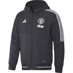 Bunda adidas Manchester United UCL Presentation - Night Grey